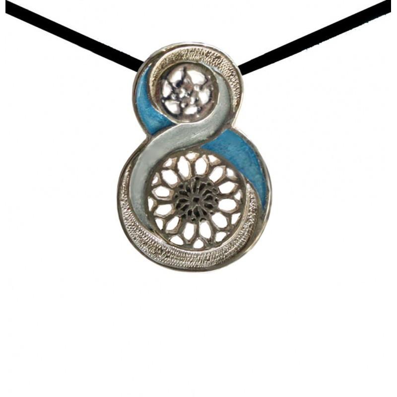 Medallón colegiata de Santa María - A Coruña